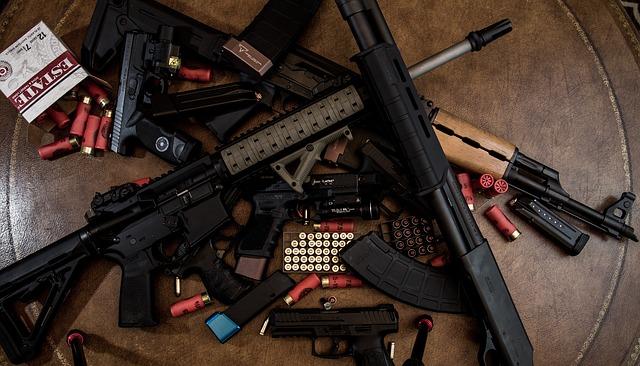 handel bronią w Holandii