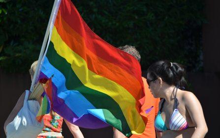 Pride Walk w Amsterdamie