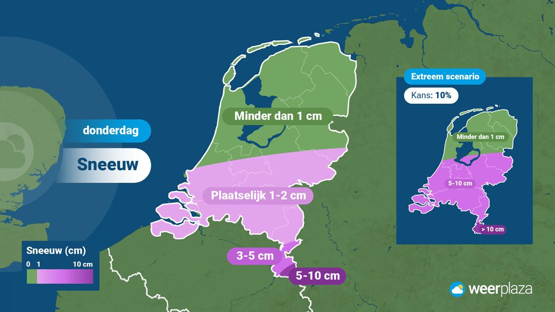 najnowsze wiadomości z Holandii suma opadów śniegu