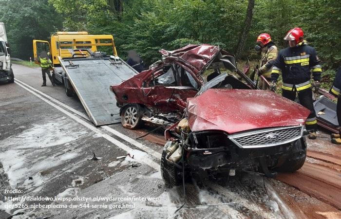 3 osoby giną w wypadku