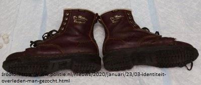 buty ofiary wiadomości z Holandii