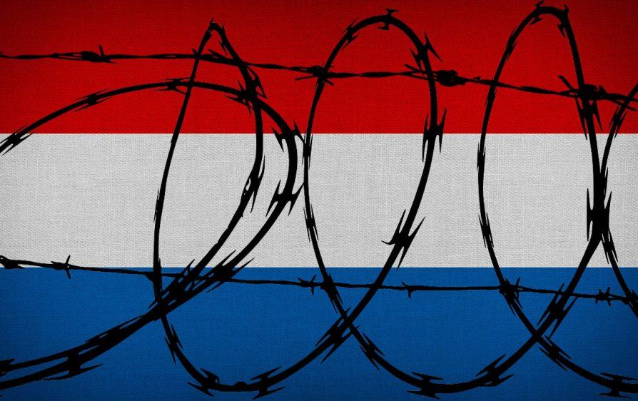 zamknąć granice Holandii dla migrantów