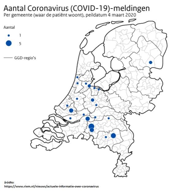 koronawirus w Holandii najnowsze wiadomości z Holandii