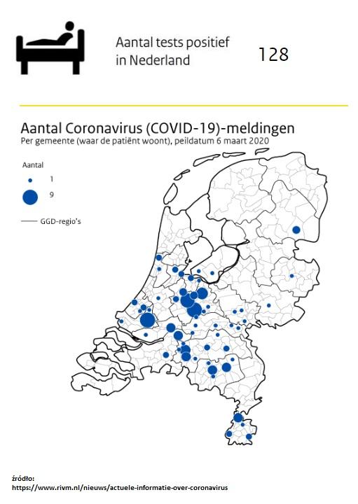 koronawirus sobota najnowsze wiadomości z Holandii