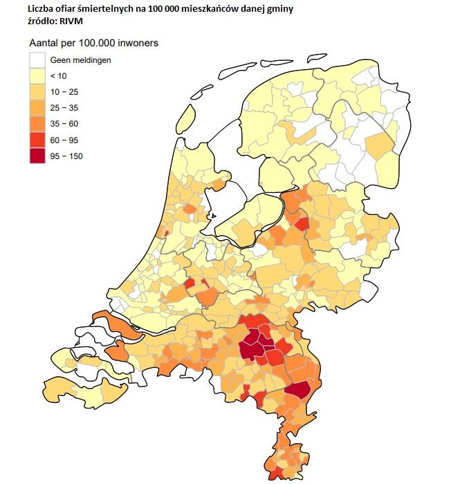 koronawirus raport Holandia 14 kwietnia