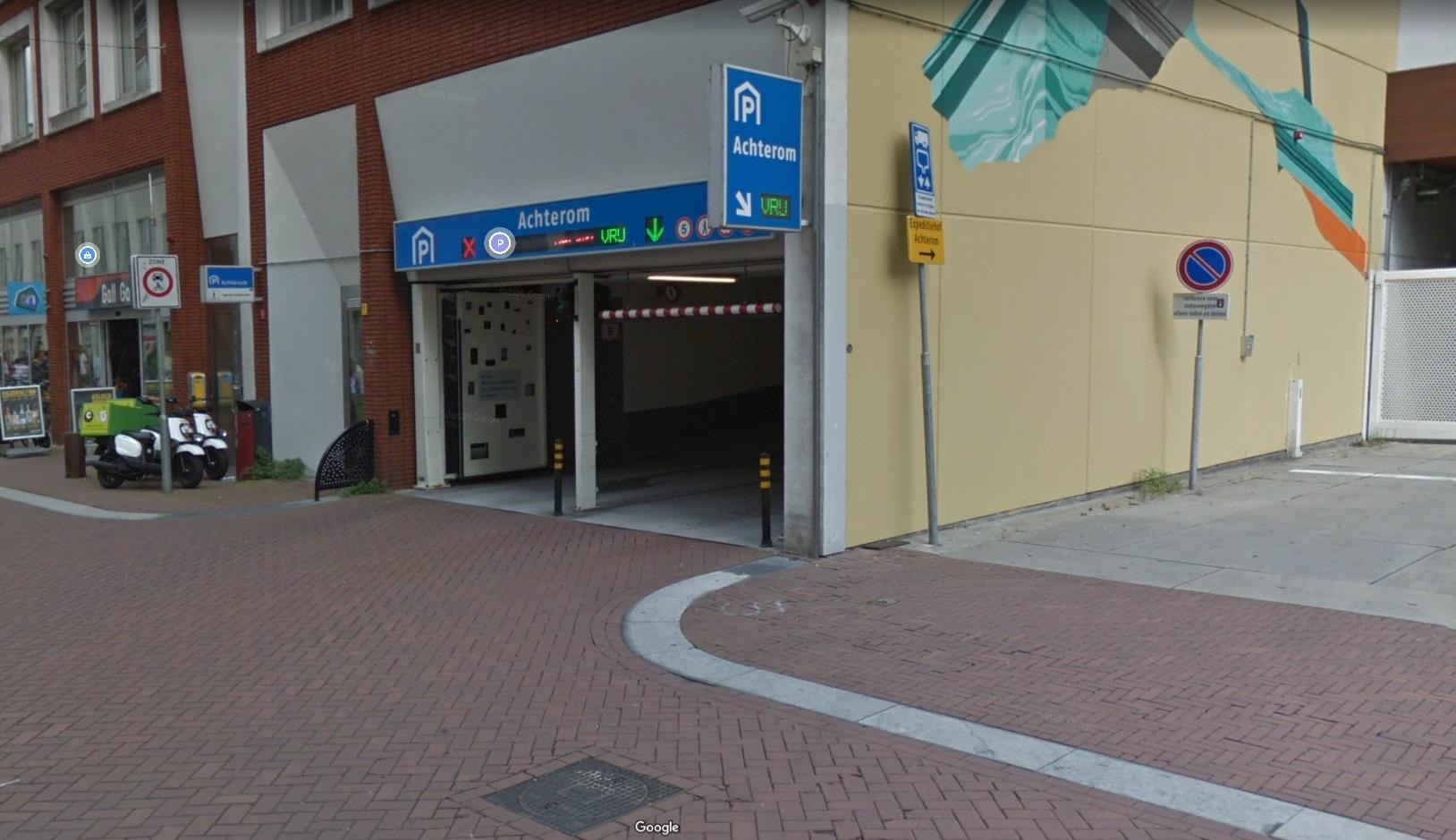 parking gdzie znaleziono dziecko