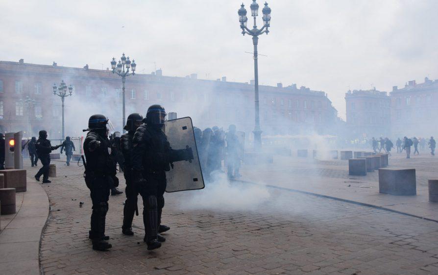 143 aresztowanych w Amsterdamie