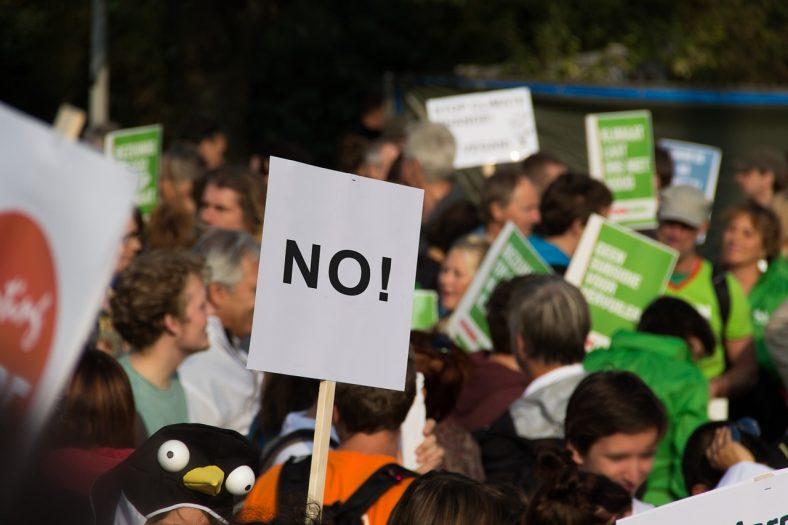 Demonstracje i protesty wobec polityki rządu