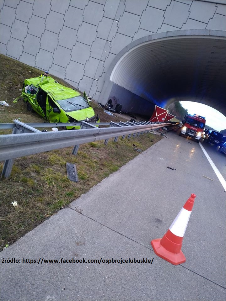 wypadek busa wiadomości z Holandii