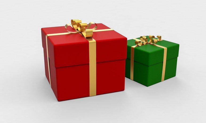 kradnie prezenty od Mikołaja