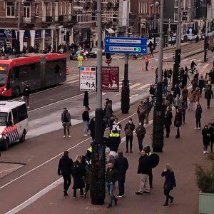 24 stycznia 2021 Amsterdam zamieszki