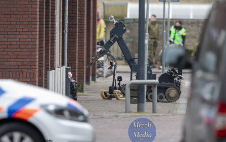 bomba przed polskim sklepem