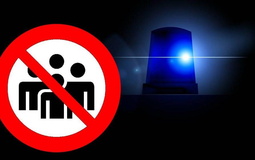 godzina policyjna w NL data wprowaedzenia