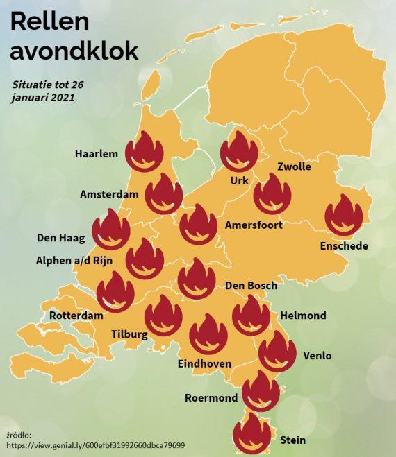 Holandia płonie