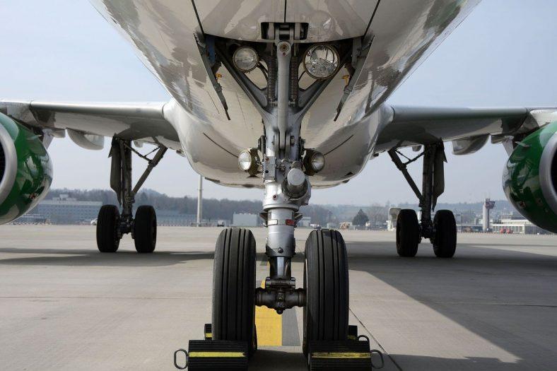 pasażer na gapę znaleziony w podwoziu samolotu