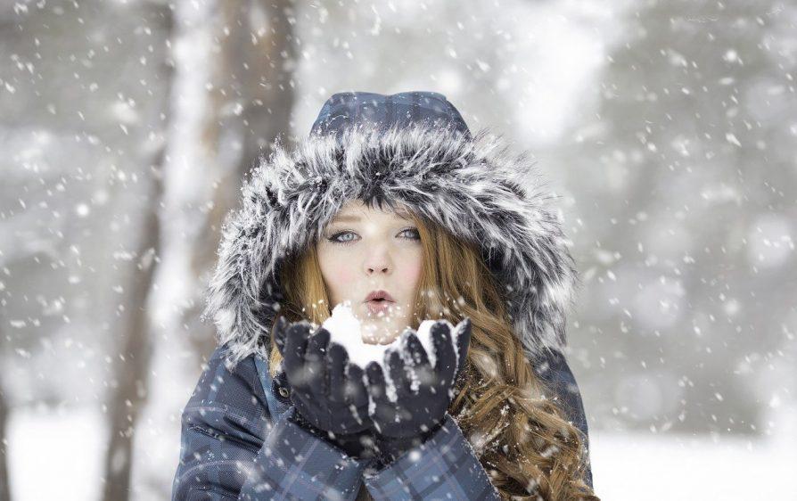 opady śniegu w Holandii
