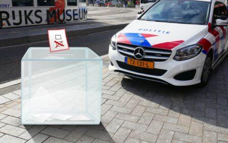 godzina policyjna podczas wyborów w Holandii