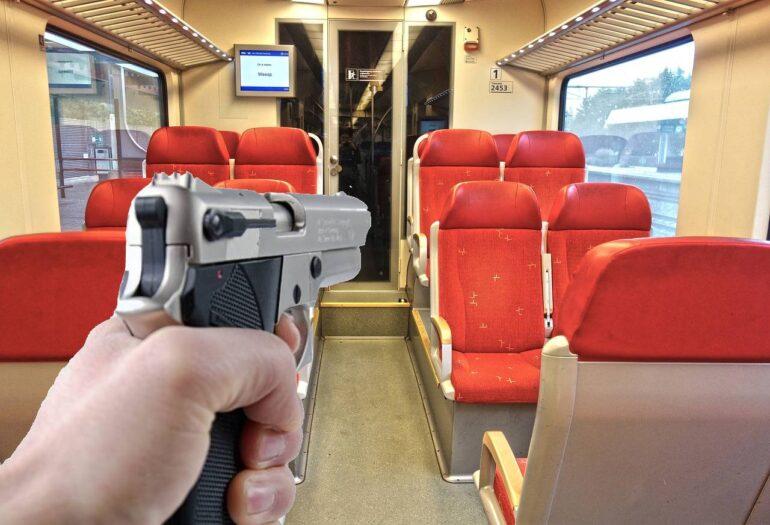 strzały w holenderskim pociągu