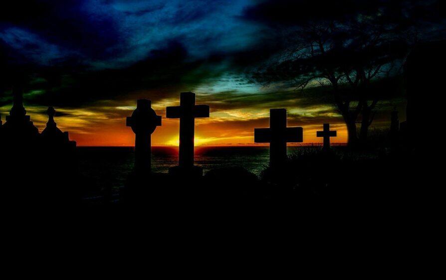 cmentarz i zombie w Holandii