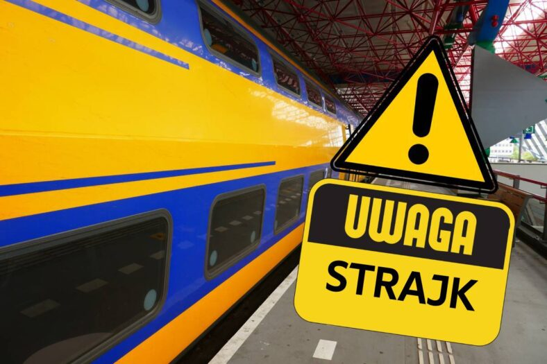 Akcja protestacyjna i paraliż na kolei