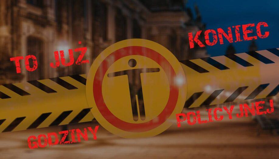 koniec godziny policyjnej w Holandii