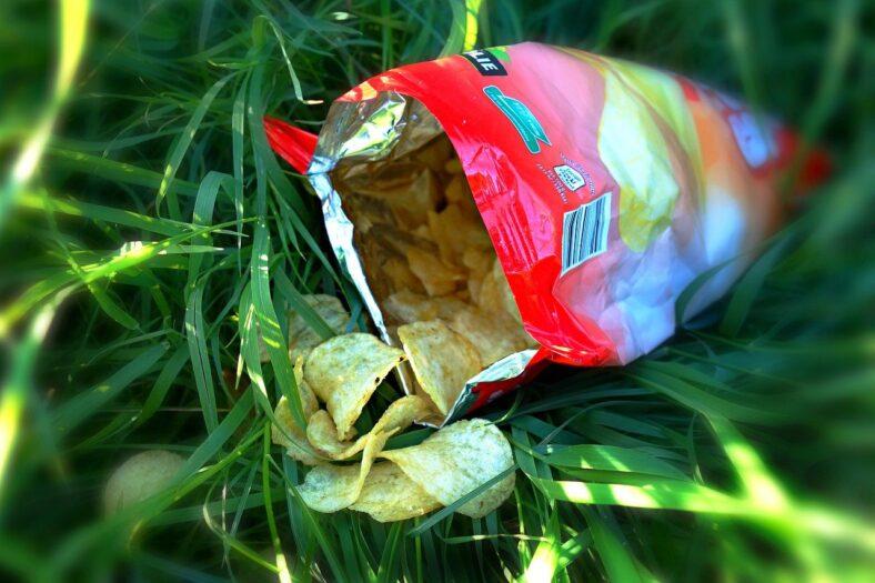 Ogromne znalezisko w paczce chipsów
