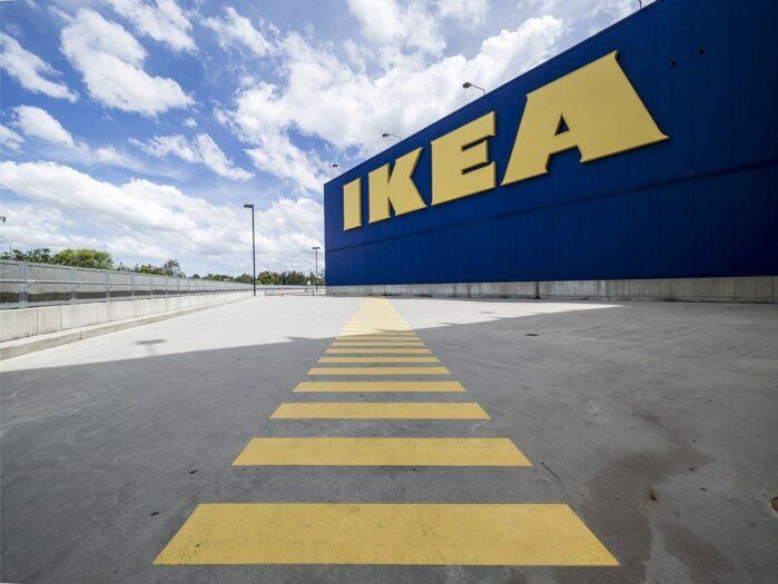 wywrócone święta w Holandii IKEA
