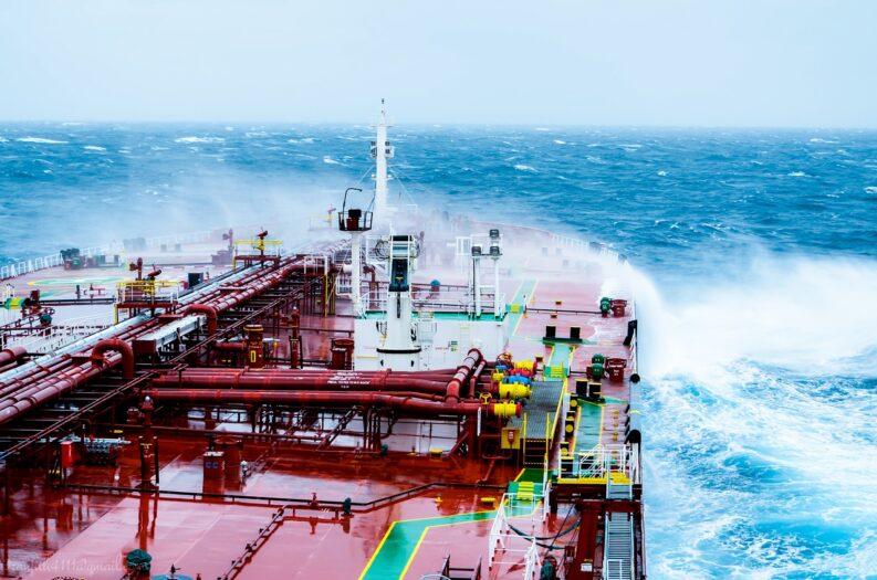Morze Północne statek