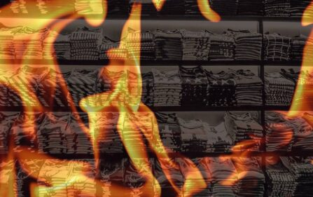 podpalenie polski sklep