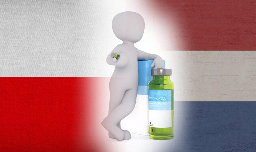 terminy szczepień w Holandii