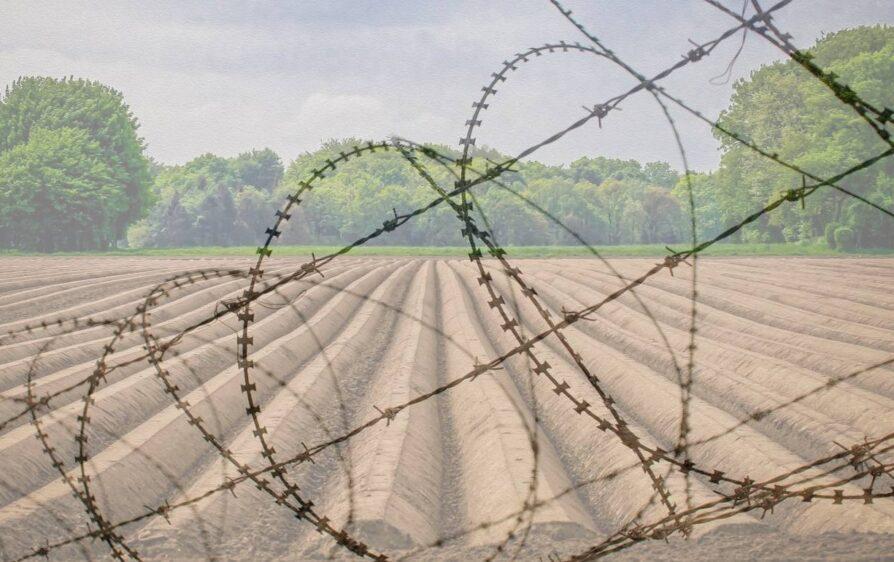 Niemcy obóz szparagowy