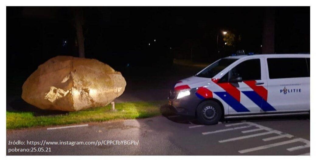 policja poszukuje właścicieli kamyka