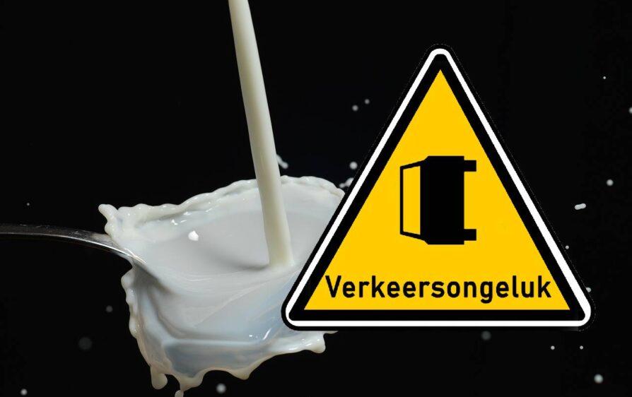 mleko się rozlało