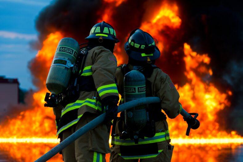 Kubus XL Lelystad pożar
