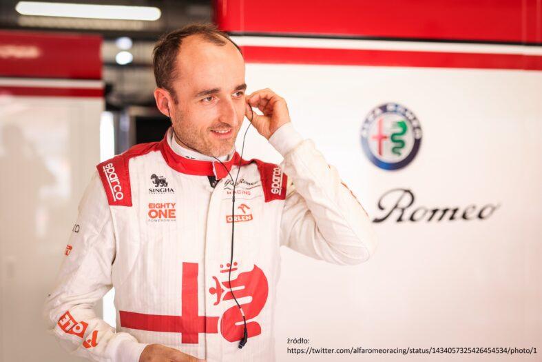 Robert Kubica wystartuje w GP Holandii