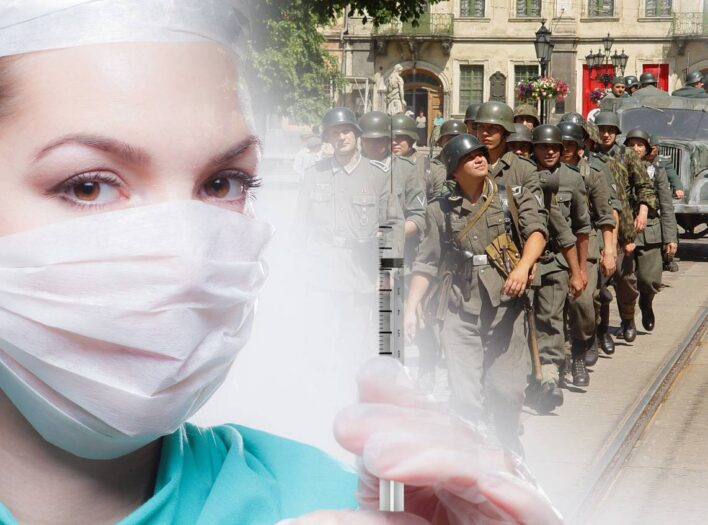 Naziści w proteście na ulicach Urk
