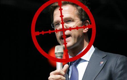 Fan teorii spiskowych chciał zamordować premiera Marka Rutte